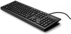 Клавиатура HP Classic Wired Keyboard Black (WZ972AA)