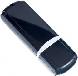 USB Flash накопитель 16Gb Perfeo C02 Black (PF-C02B016)