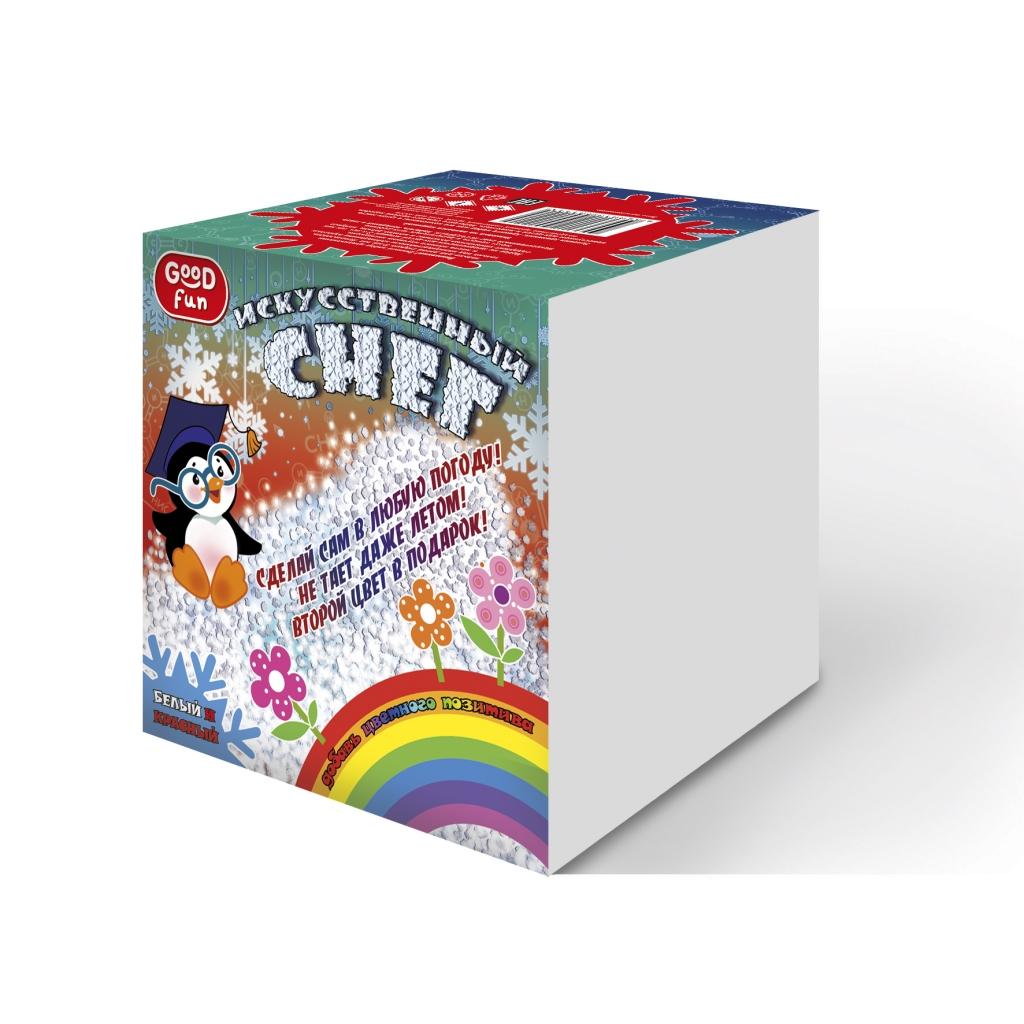 Купить Набор для опытов GOOD FUN GF006R Искусственный снег. Красный, Пластик, дерево, химические реактивы, Для мальчиков и девочек, Россия, Детские наборы для исследований