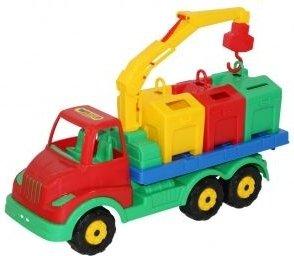 Купить ПОЛЕСЬЕ Муромец , автомобиль-контейнеровоз [44082P], Полесье, Игрушечные машинки и техника