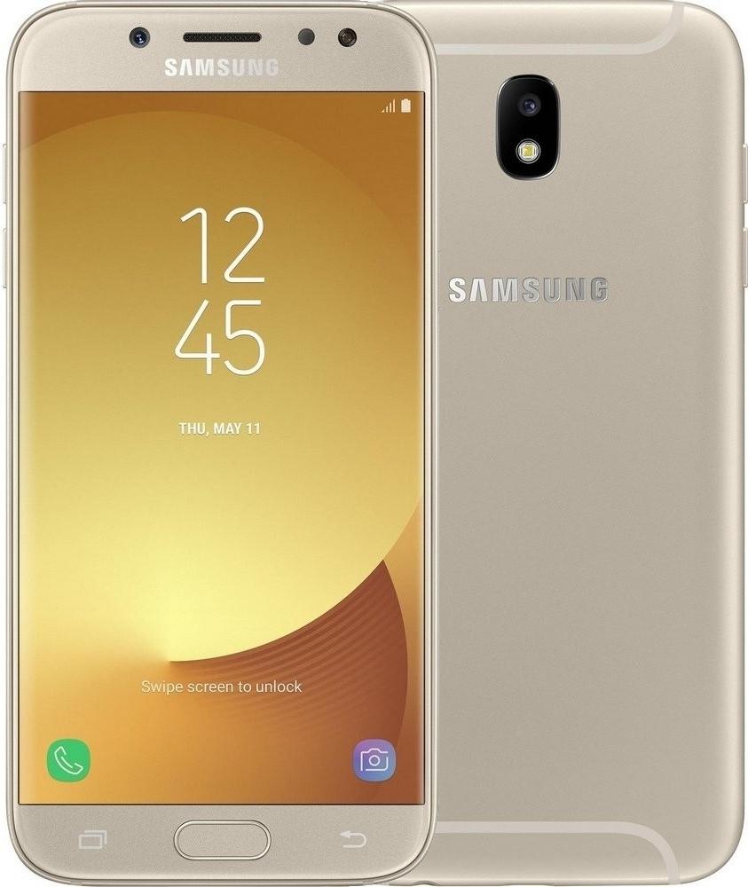 Смартфон Samsung Galaxy J5 (2017) 16Gb (SM-J530FZDNSER) Gold