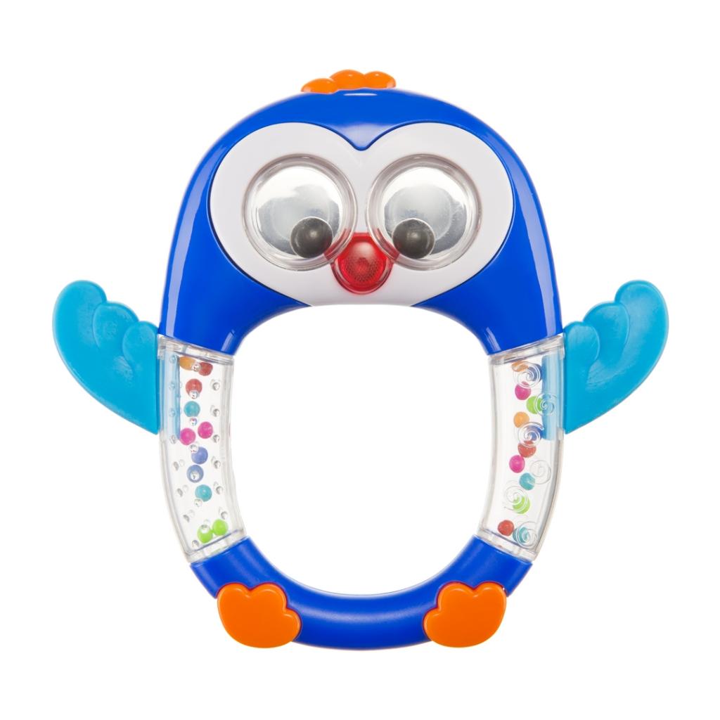 Купить Игрушка HAPPY BABY 330371 PENGUIN LO-LO, АБС-пластик, полипропилен, этиленвинилацетат, Для мальчиков и девочек, Китай, Развивающие игрушки для малышей