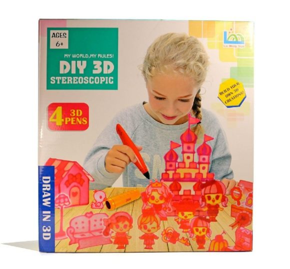 LEIMENGTOYS Набор 3D-ручек Stereoscopic