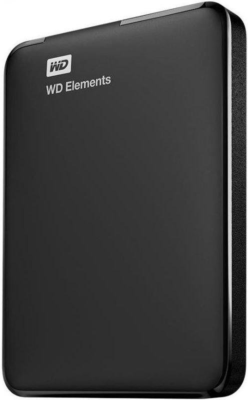 Внешний жесткий диск 2 Тб Western Digital Elements Portable (WDBMTM0020BBK-EEUE) Micro USB Type-B, черный фото
