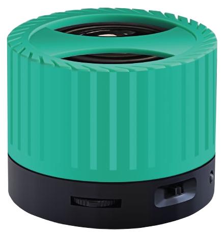 Портативная колонка Ginzzu GM-988G зеленый