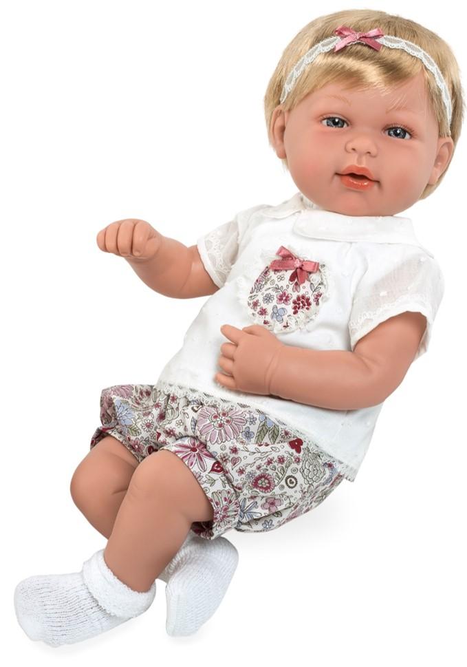 Купить MUNECAS ARIAS Пупс ARIAS Elegance с соской, 45 см, [Т13738], 480 x 260 x 170 мм, Текстиль, винил, Куклы и пупсы