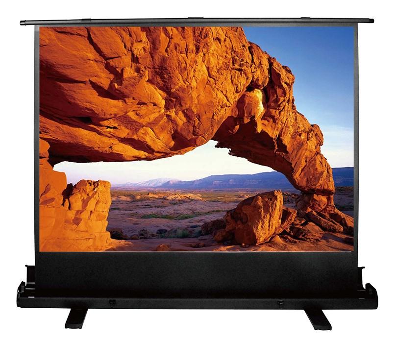 Экран напольный рулонный Cactus Floor Expert (CS-PSFLE-120X90) 4:3 90x120 см фото