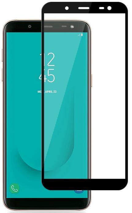 Купить Защитное стекло skinBOX full screen для Samsung Galaxy J8 (2018) SP-858 (4660041405859) Черный, Китай