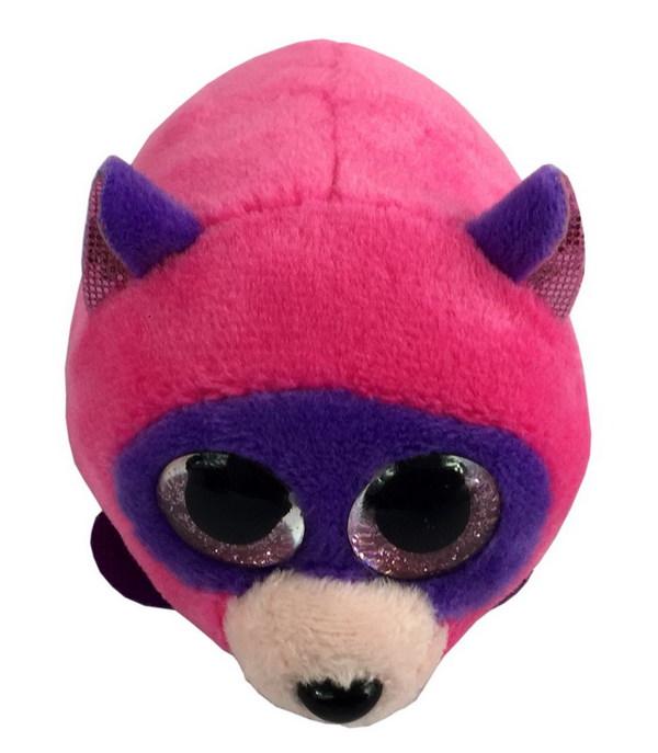 Купить ABTOYS Енот, 10 см (розовый) [M1007], пластик, Искусственный мех, Для мальчиков и девочек, Мягкие игрушки