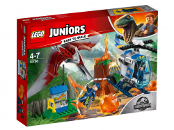 Конструктор LEGO 10756 Juniors Jurassic World Побег птеранодона