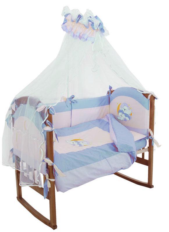 Купить 12356361, PAPITTO Комплект «Баю-бай» 8 предметов, [7050], Постельное белье для малышей
