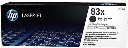 Лазерный картридж HP 83X Black (CF283X) фото
