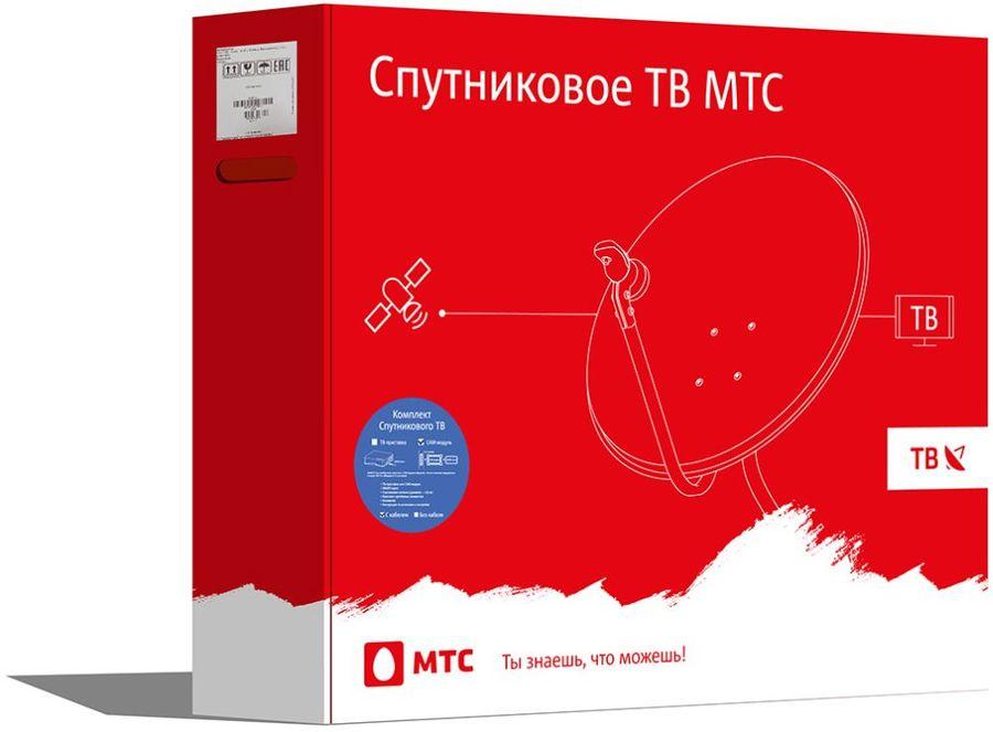 476217 Комплект спутникового телевидения МТС №166 Мтс
