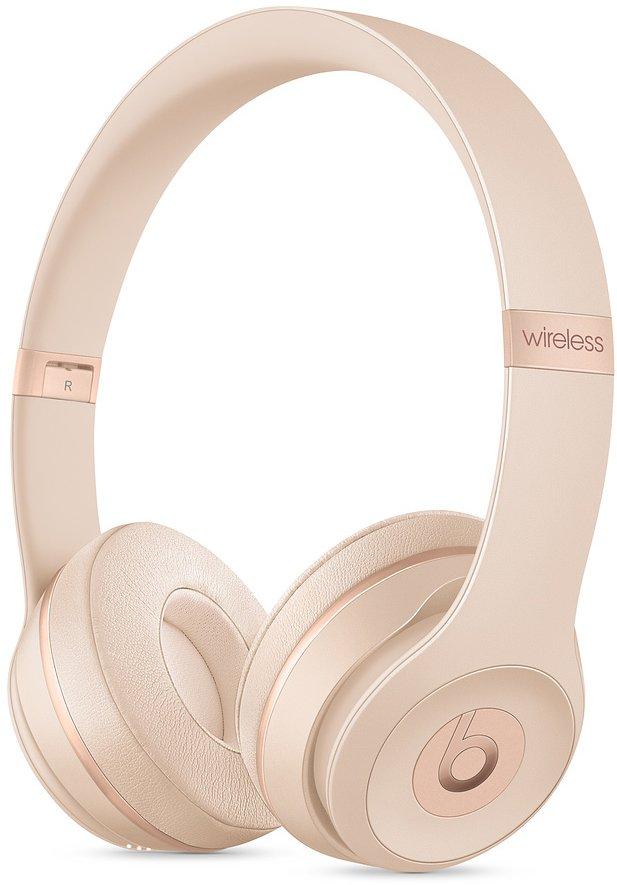 Гарнитура Apple Beats Solo3 Wireless Matte Gold (MUH42EE/A)