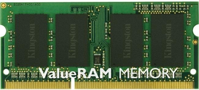Оперативная память SO-DIMM 4 Гб DDR3 1600 МГц Kingston ValueRAM (KVR16LS11/4) PC-12800