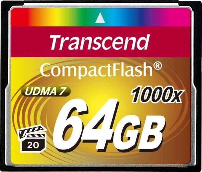 Карта памяти   64Gb Transcend 1000x (TS64GCF1000)