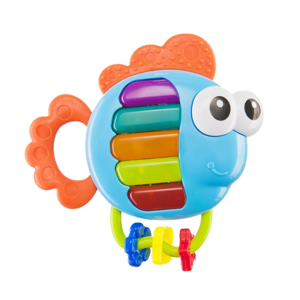Купить Игрушка HAPPY BABY 330369 PIANO FISH, АБС-пластик, полипропилен, этиленвинилацетат, Для мальчиков и девочек, Китай, Развивающие игрушки для малышей