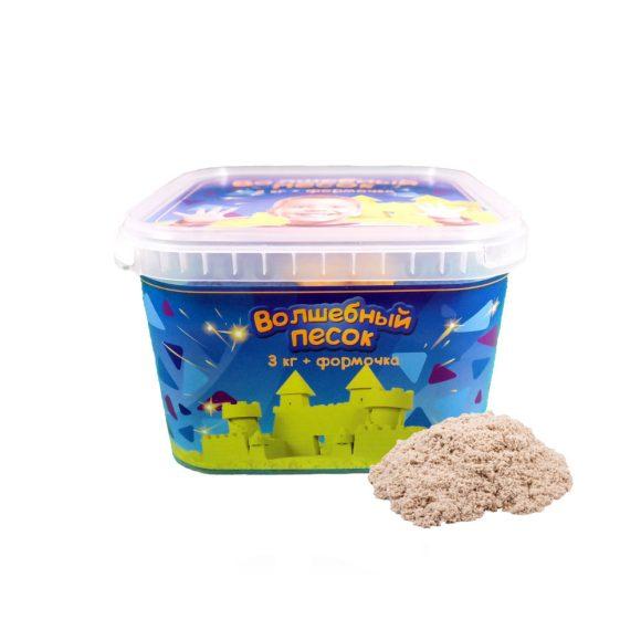 Купить КОСМИЧЕСКИЙ ПЕСОК Набор Волшебный песок Классический 3 кг и формочка [VP31], Космический песок, Кинетический песок