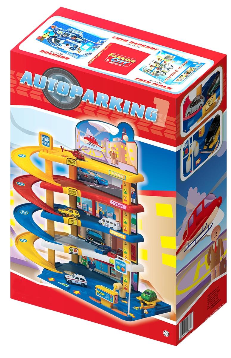 Купить НОРДПЛАСТ Гараж «Автопаркинг 1» [431231], Нордпласт, качественный пластик, Россия, Детские парковки и гаражи