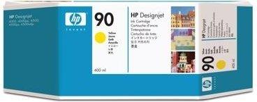 Струйный картридж HP 90 Yellow (C5065A) фото