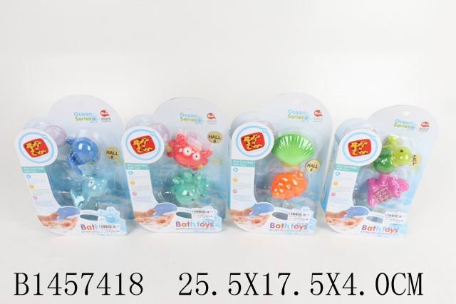 SHANTOU Набор Животные для ванны, [1457418], пластик, Детские игрушки для ванной  - купить со скидкой