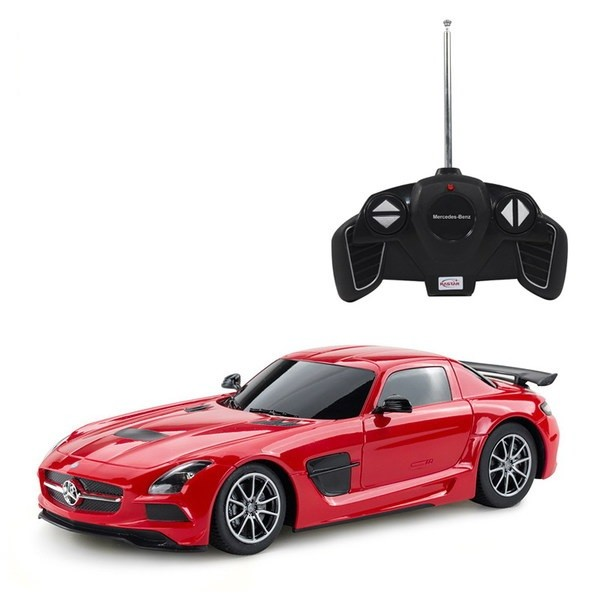 Купить Машина р/у 1:18 Mercedes-Benz SLS AMG Цвет Красный [54100R], Rastar, Игрушки на радиоуправлении