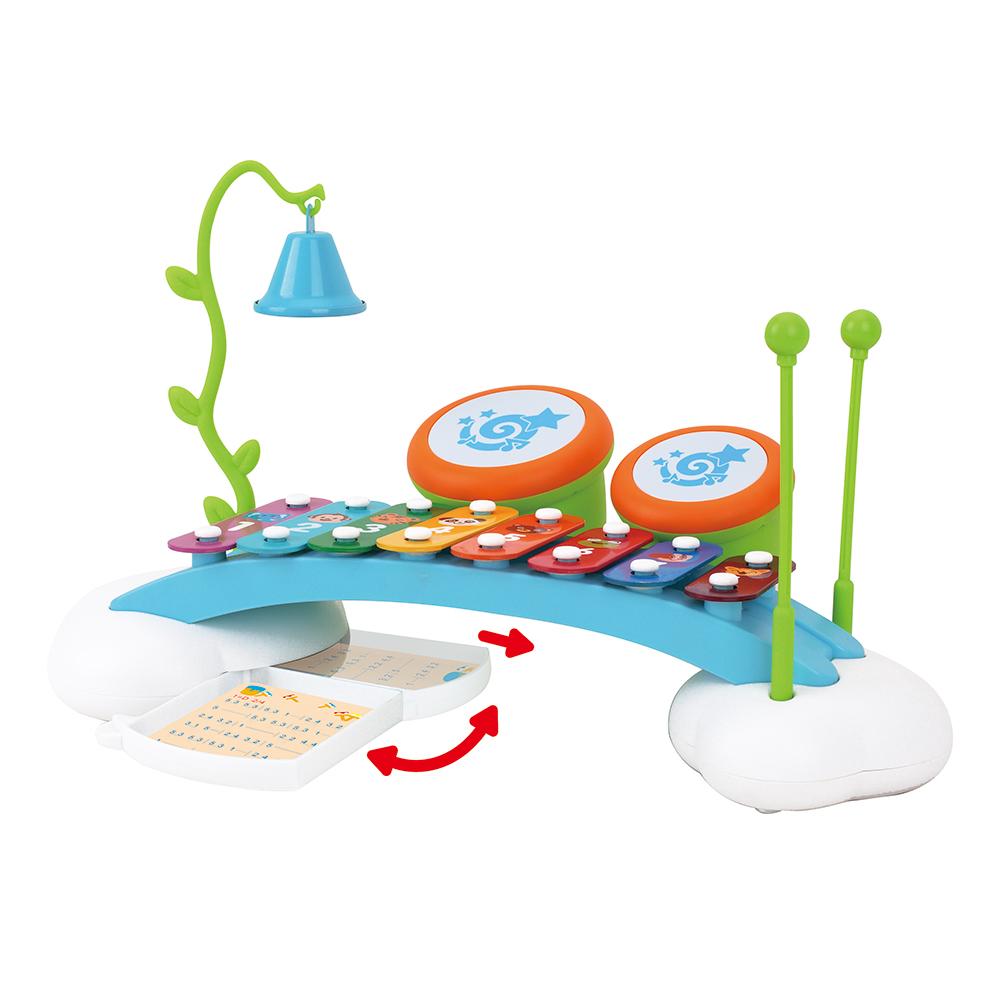 Купить HOLA Игрушка развивающая КСИЛОФОН РАДУГА со звуками органа [909], Китай, Развивающие игрушки для малышей