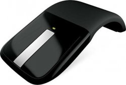 Беспроводная мышь Microsoft Arc Touch Mouse Black (RVF-00056)
