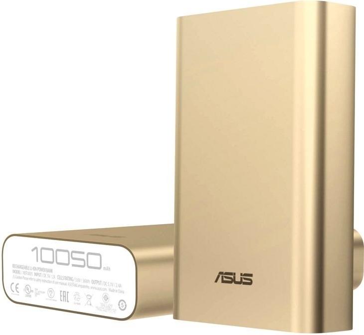 Мобильный аккумулятор Asus ZenPower ABTU005 (90AC00P0-BBT078), Золотистый, Китай  - купить со скидкой