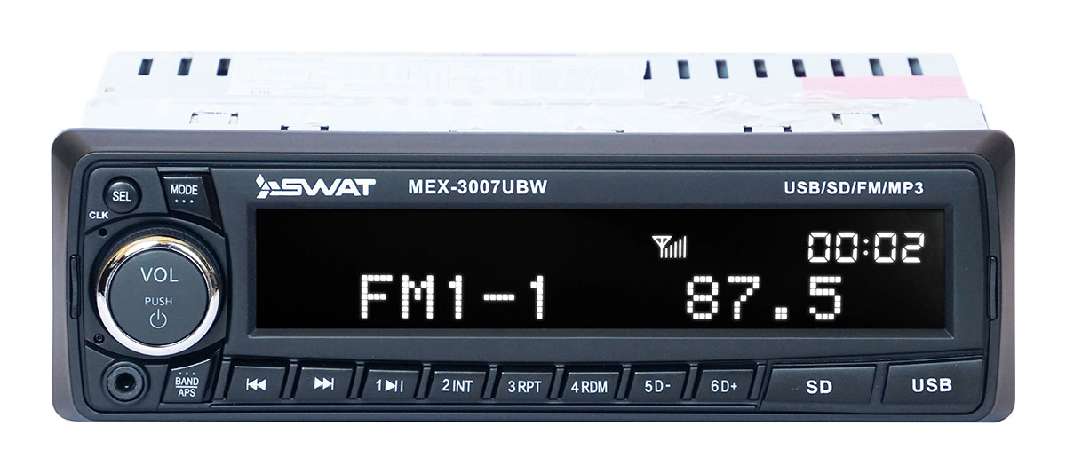 Автомагнитола Swat MEX-3007UBW