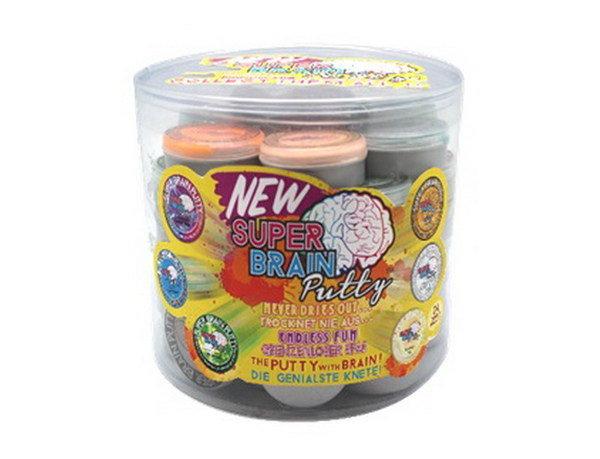 Купить JOCKER Жвачка для рук Super Brain Putty , мини версия, 48 шт. в диспенсере, все серии (кроме серии Меняющая цвет ), 20 гр., ЦЕНА ЗА ШТУКУ!, [34040], Игровые наборы и фигурки для детей