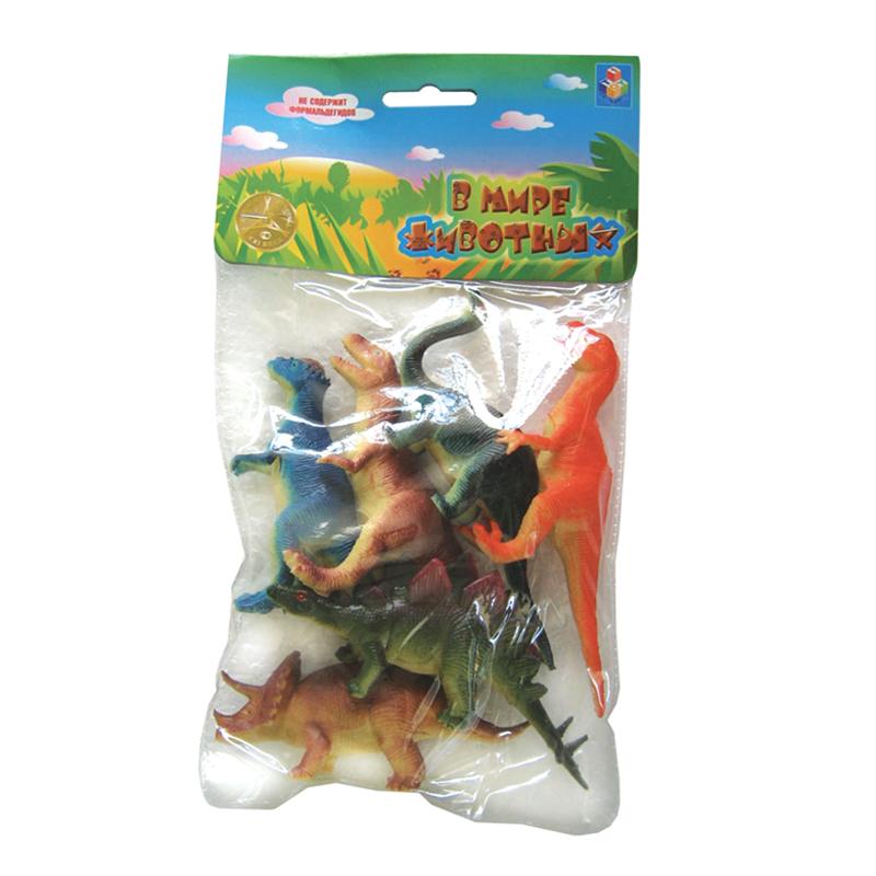 Купить Набор динозавров «В мире животных» (6 шт.) [Т50484], Brio, Для мальчиков и девочек, Игровые наборы и фигурки для детей