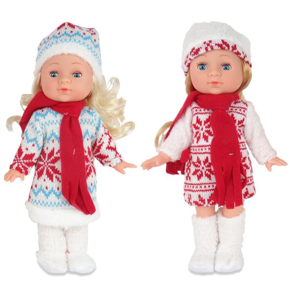 Купить ABTOYS Кукла Времена года. Зимняя (30 см) [PT-00630(WJ-A9146)], в ассортименте, пластик, Текстиль, Для девочек, Куклы и пупсы