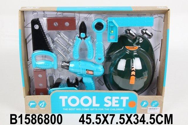 Купить SHANTOU Набор инструментов, в/к 45.5*7.5*34.5 см. [JB202039], Детские наборы инструментов