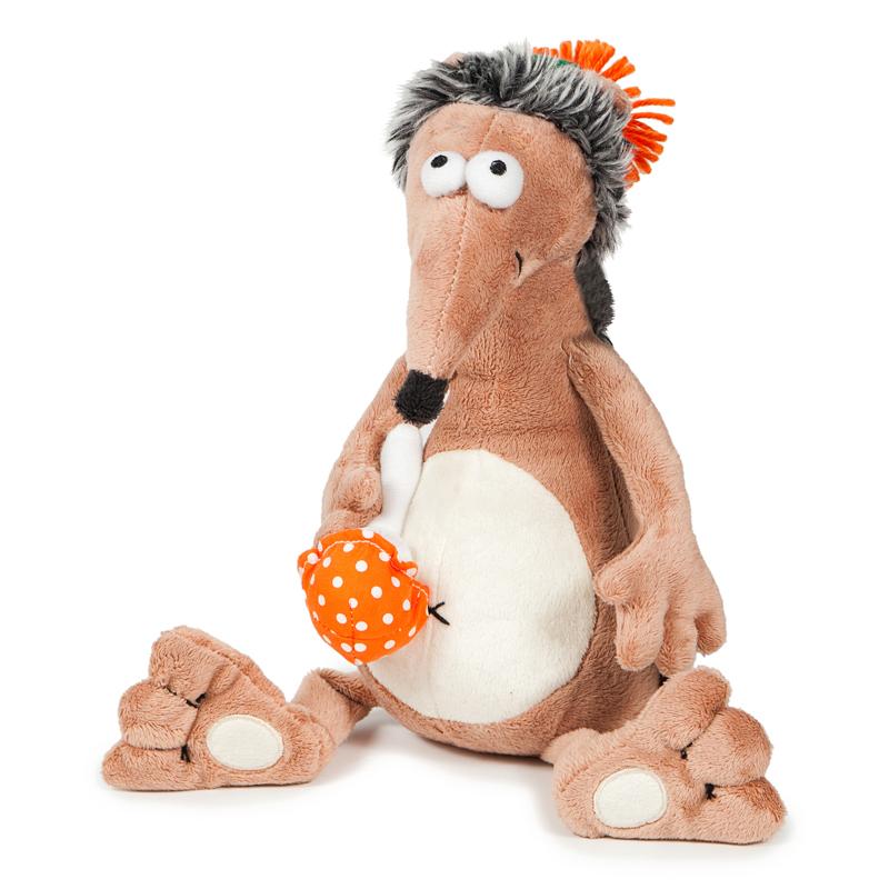 Купить Мягкая игрушка ДУRАШКИ MT-TS-A8144-25 Ёж & Muhomor, Искусственный мех, полиэтиленовые гранулы, синтетическое волокно, элементы из пластмассы, Для мальчиков и девочек, Китай, Мягкие игрушки