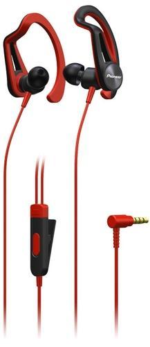 Наушники Pioneer SE-E5T красные фото