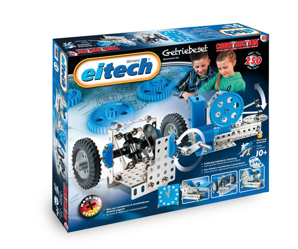 Купить Конструктор EITECH 00007 Механик 250 деталей, Металл, Для мальчиков и девочек, Германия, Конструкторы