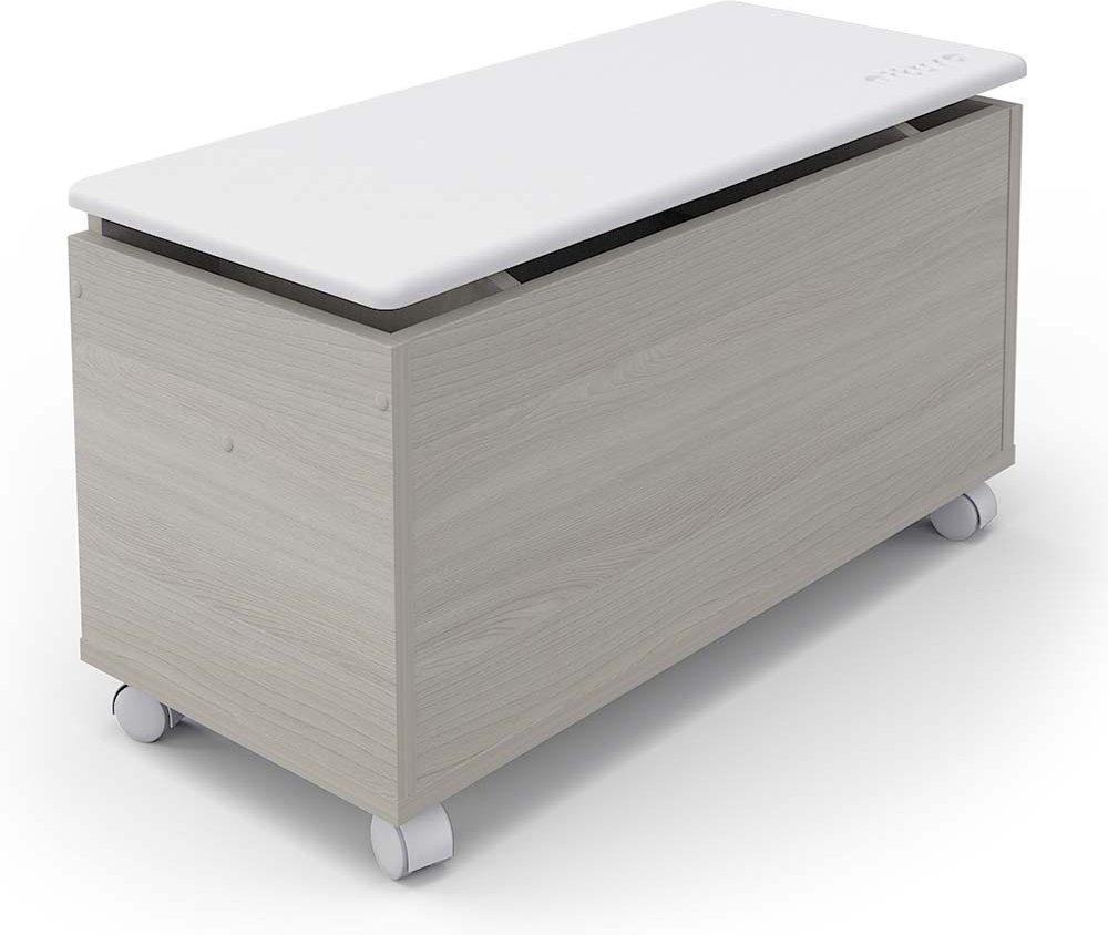 Купить PITUSO Ящик универсальный Buggy, Ясень шимо светлый -белый, Принадлежности для хранения игрушек