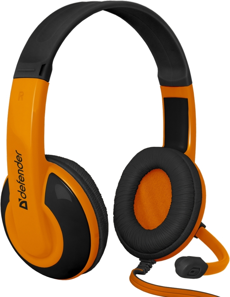 Гарнитура Defender Warhead G-120 Black/Orange