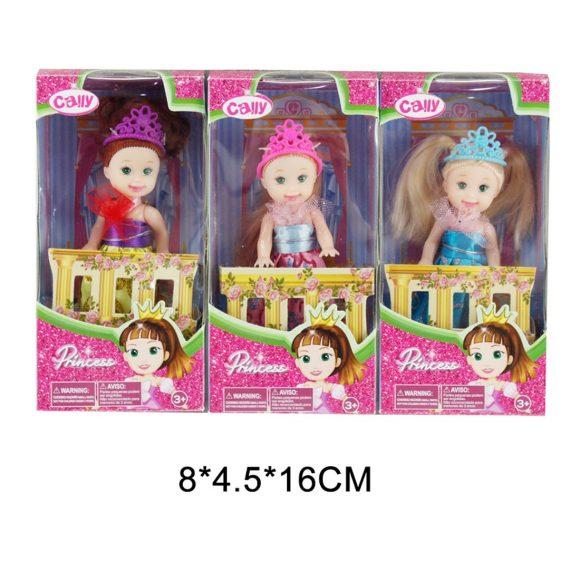 Купить НАША ИГРУШКА Кукла Cally-Принцесса 10 см. [C007], Наша игрушка, пластик, Для девочек, Куклы и пупсы
