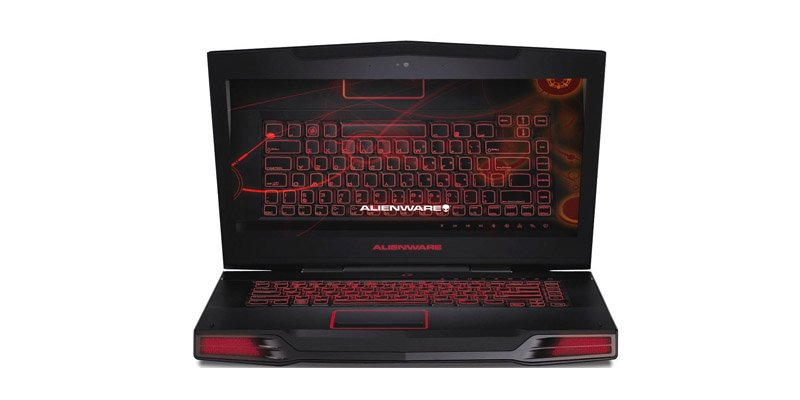 Ноутбук Dell Alienware M17x (m17x-0964) Black