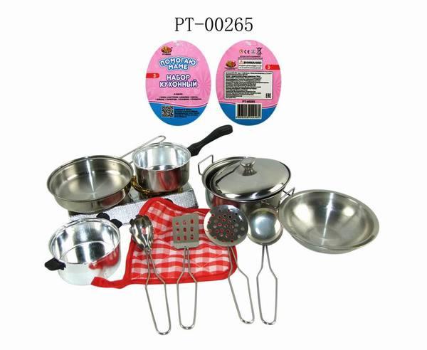 Купить ABTOYS Кухонный набор [PT-00265(WK-B0954)], Металл, Игрушечная еда и посуда