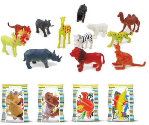 Купить 1 TOY Набор животных Мелочь, а приятно , 13x22x23 см [Т10033], пластик, Игровые наборы и фигурки для детей