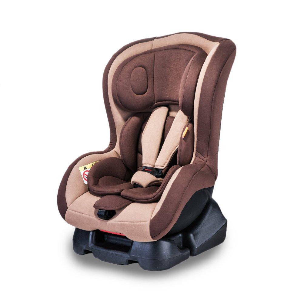 Купить BEWELL Автокресло Bewell Travel BW05 (цвет: коричневый) [УТ0010022], пластик, Текстиль, Детские автокресла