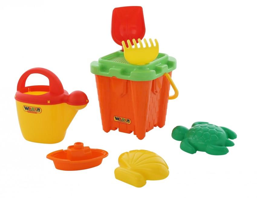 Купить ПОЛЕСЬЕ Набор для песочницы №556 [57259P], в ассортименте, пластмасса, Детские наборы в песочницу