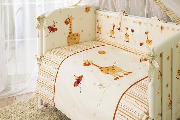 Купить 12358713, ТМ ПЕРИНА Комплект постельного белья Кроха, 7 предмета, [К7-01.2], Постельное белье для малышей
