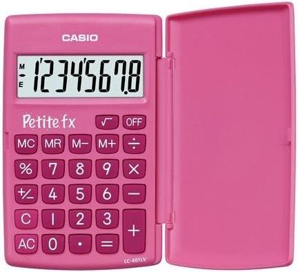 Калькулятор карманный Casio LC-401LV-PK