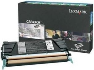 Тонер-картридж Lexmark C5240KH Black