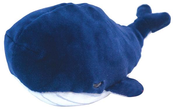 Купить ABTOYS Мягкая игрушка Кит 13 см (синий) [M2010], Искусственный мех, Текстиль, Для мальчиков и девочек, Мягкие игрушки
