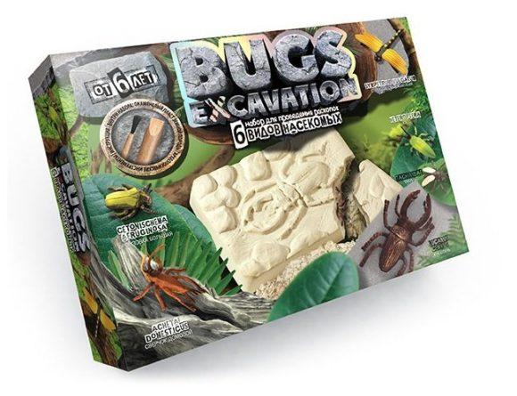 Купить ДАНКО-ТОЙС Набор для проведения раскопок Bugs Excavation Насекомые (жуки и стрекоза) [BEX-01-02], Danko toys, Детские наборы для исследований